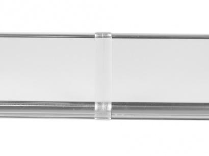 Spojka hliník 790/8MG Profilpas Nerez leštěná