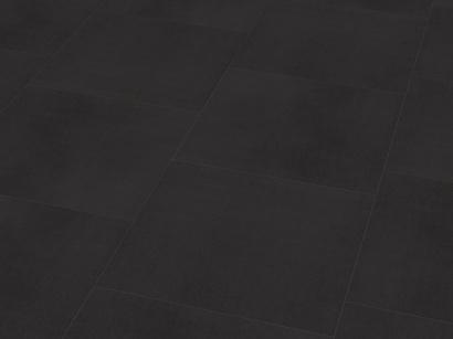 Vinylová podlaha DESIGNline 800 tile L Solid Black