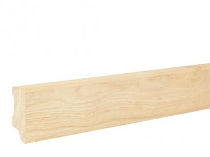 Masivní soklová lišta Dub Original 20 x 45 surová model 2
