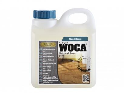 Woca mýdlo na dřevěné olejované podlahy