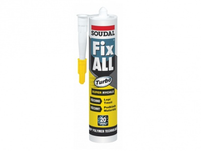 Lepidlo Soudal Fix ALL Turbo 290 ml
