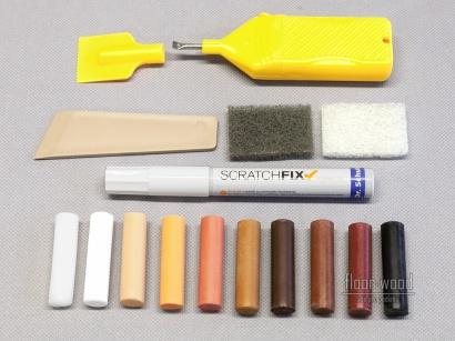 Set pro opravu dřeva laminátu elastických podlah Dr. Schutz