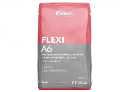 Sádrová nivelační hmota Chemos A6 Flexi