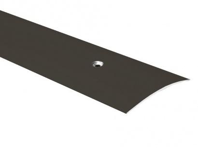 Přechodová lišta šroubovací oblá Bronz E03