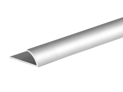 Ukončovací profil pro koberce do 7 mm Stříbrná E01
