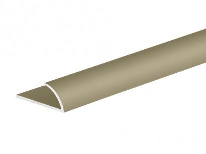 Ukončovací profil pro koberce do 7 mm Šampaň E02