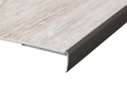 Schodová lišta pro vinyl pvc a koberce Bronz E03