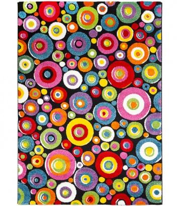 Kusový koberec 3D Relief 22842-110 Multi