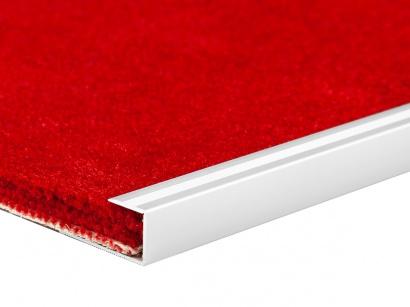 Ukončovací profil pro podlahové krytiny Stříbrný E01