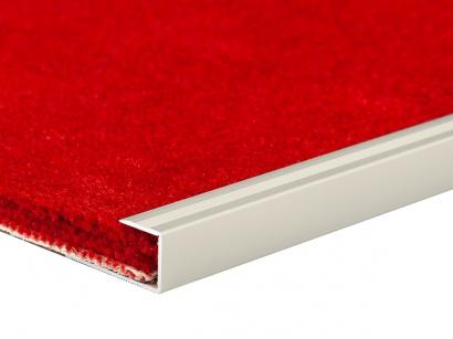 Ukončovací profil pro podlahové krytiny Inox E71