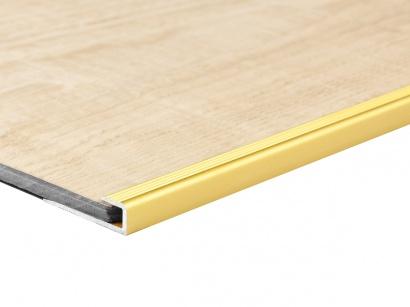 Ukončovací profil pro krytiny do 5 mm Zlatá E00