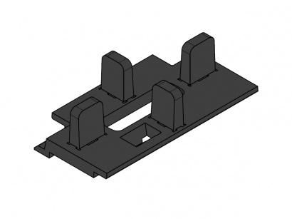 Rozpěrka PPL/D4 pro hliníkové nosníky, spáry 4 mm