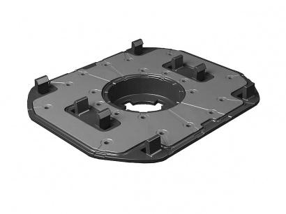 Hlava PPL/TA pro hliníkové nosníky