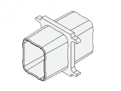 Spojka PPL/GR pro hliníkový nosník
