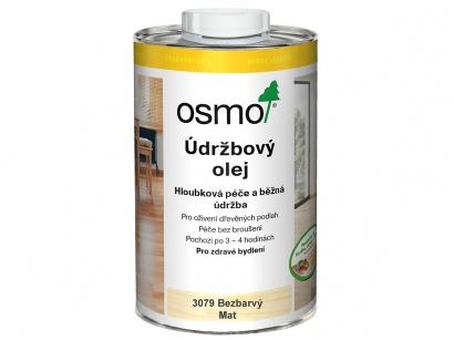 Osmo 3079 Údržbový olej bezbarvý mat