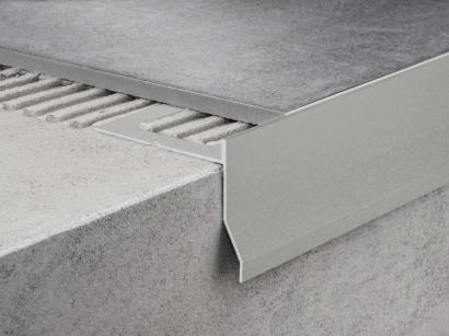 Balkonový profil Protec CPCV/95/12,5 Aluminium grey RAL 9007