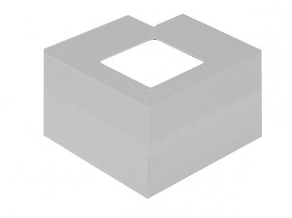 Vnější roh CPCV/95/10/E Aluminium grey RAL 9007