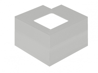 Vnější roh CPCV/95/12,5/E Aluminium grey RAL 9007