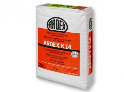 Nivelační hmota Ardex K 14 cementová