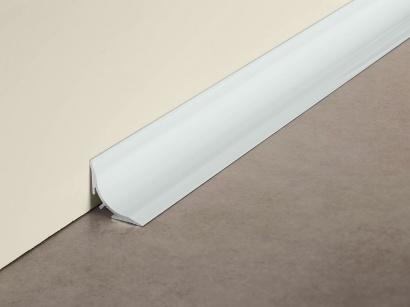 Hygienický spojovací profil Proround BLA 40x40 Stříbrný