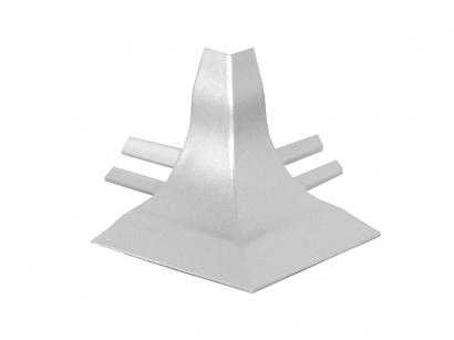 Vnější roh GBL/40/E polypropylen Stříbrný