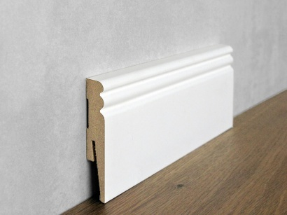 Podlahová soklová lišta Bílá Paint it Jazz II 15 x 80 MP0802