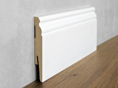 Podlahová soklová lišta Bílá Paint it Viktoriánská 15 x 100 MP1003