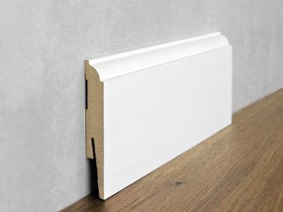 Podlahová soklová lišta Bílá Paint it Torus II 15 x 90 MP0901
