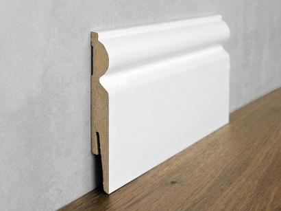 Podlahová soklová lišta Bílá Paint it Torus 15 x 110 MP1101