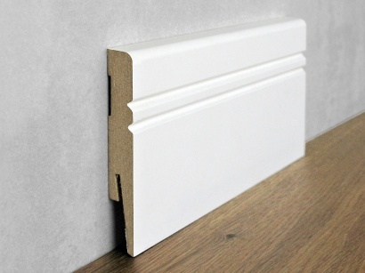 Podlahová soklová lišta Bílá Paint it Jazz 15 x 100 MP1005