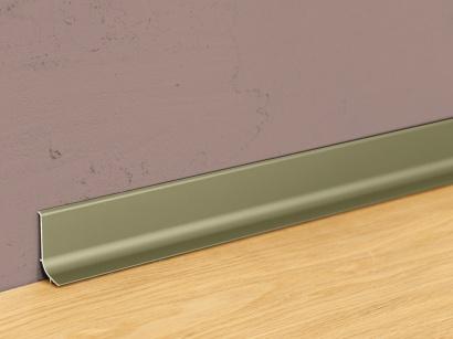 Hliníková podlahová lišta samolepící Šampaň Q63