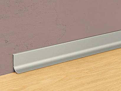 Hliníková podlahová lišta samolepící Inox Q64
