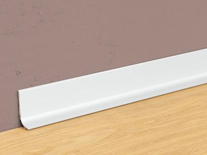 Hliníková podlahová lišta samolepící Stříbrná Q64