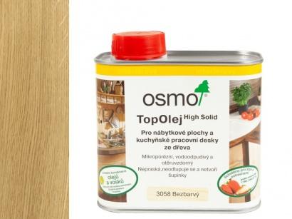 Olej pro kuchyňské pracovní desky Osmo 3058 Top Olej Bezbarvý mat