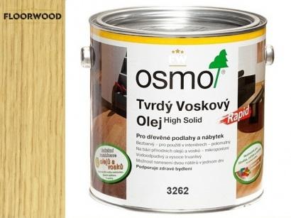 Osmo 3262 Rapid tvrdý voskový olej mat rychleschnoucí
