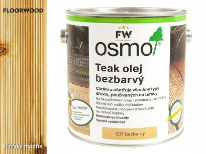 Osmo 007 bezbarvý olej na dřevěné terasy