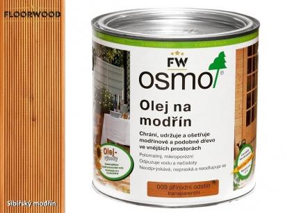 Osmo 009 Modřín olej na dřevěné terasy