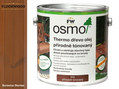 Osmo 010 Thermo olej na dřevěné terasy