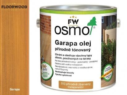 Osmo 013 Garapa olej na dřevěné terasy