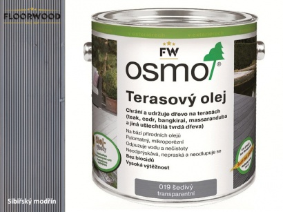 Osmo 019 Šedý olej na dřevěné terasy