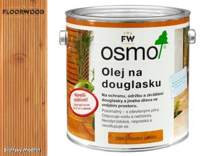Osmo 004 Douglaska olej na dřevěné terasy