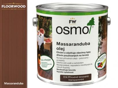 Osmo 014 Massaranduba olej na dřevěné terasy