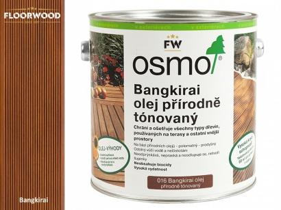 Osmo 016 Bangkirai tmavý olej na dřevěné terasy