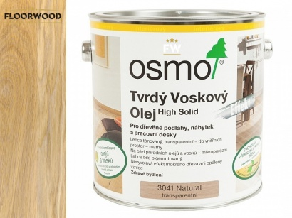 Osmo 3041 Effekt Natural tvrdý voskový olej transparent