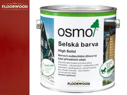 Osmo 2311 Selská barva na dřevo Karmínově červená
