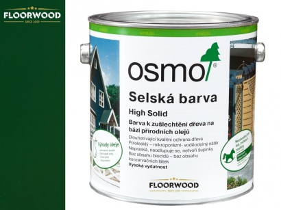 Osmo 2404 Selská barva na dřevo Jedlově zelená
