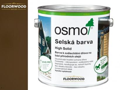 Osmo 2606 Selská barva na dřevo Středně hnědá