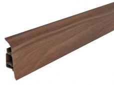 Podlahová lišta pro vedení kabelů LM60 Arbiton 56 Ořech Baltimore