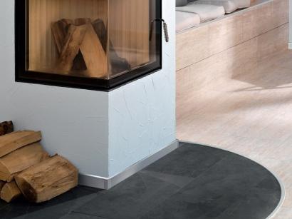 Hliníková podlahová lišta Küberit 935 Stříbrná F4