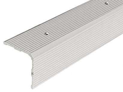 Schodová lišta šroubovací Arbiton 30 x 30 x 2700 Stříbrná PS3